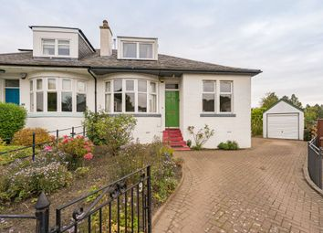 Thumbnail 4 bed semi-detached bungalow for sale in 9 Blinkbonny Grove, Edinburgh