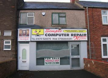 Thumbnail Retail premises for sale in North Seaton Road, Ashington