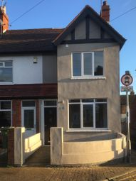 Thumbnail 2 bed end terrace house to rent in Fairview Avenue, Cleethorpes