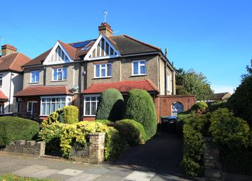 Thumbnail 4 bed semi-detached house for sale in Park Crescent, Enfield