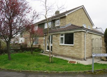 Thumbnail 4 bed semi-detached house for sale in Yeomans Way, Plympton, Plymouth
