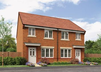 """Thumbnail 3 bed semi-detached house for sale in """"The Stretton"""" at Buttercup Gardens, Blyth"""