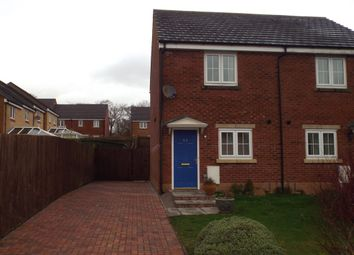 Thumbnail 2 bed semi-detached house for sale in Clos Ael-Y-Bryn, Penygroes, Llanelli