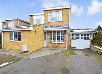 Thumbnail 4 bed detached house for sale in Appleshaw Close, Gravesend, Kent