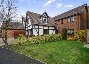 Thumbnail 4 bed detached house for sale in Cricketers Way, Benwick, March