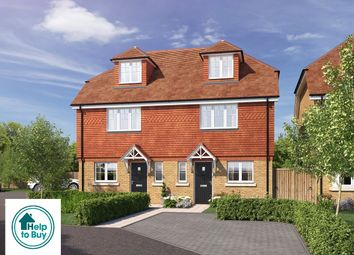 Thumbnail 3 bed semi-detached house for sale in All Saints Gardens, Nutfield Road, Merstham, Surrey