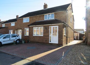 Thumbnail 3 bed semi-detached house for sale in Eastfield Close, Luton