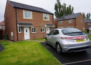 Thumbnail 2 bedroom semi-detached house for sale in Walkerfield Court, Newcastle Upon Tyne