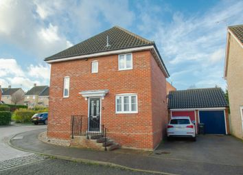 Thumbnail 3 bed detached house for sale in Boleyn Way, Haverhill