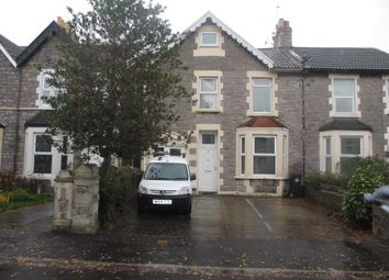 Thumbnail 1 bed flat to rent in Hill Road, Weston-Super-Mare