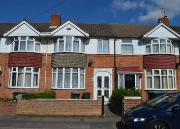 Thumbnail 3 bedroom terraced house to rent in Foxford Crescent, Aldermans Green, Coventry