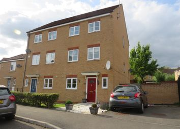 Thumbnail 4 bed town house for sale in Cooper Drive, Leighton Buzzard
