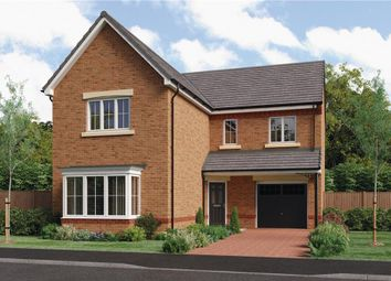 "Thumbnail 4 bedroom detached house for sale in ""The Travers"" at Ladyburn Way, Hadston, Morpeth"