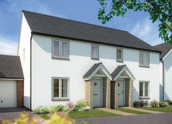 "Thumbnail 3 bed semi-detached house for sale in ""The Hazel"" at Callington Road, Tavistock"
