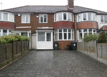 Thumbnail 3 bed terraced house to rent in Alcester Road South, Birmingham