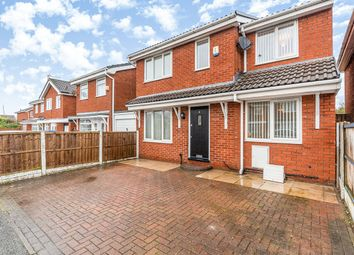 Thumbnail 4 bed detached house for sale in Lovett Drive, Prescot, Merseyside