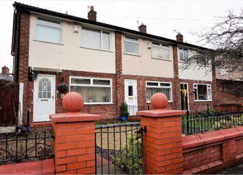 Thumbnail 3 bedroom end terrace house for sale in Graver Lane, Manchester