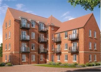 Thumbnail 1 bed flat for sale in North Derby College, Rectory Road, Clowne