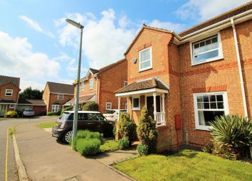 Thumbnail 3 bed semi-detached house for sale in Lodge Close, Huntingdon