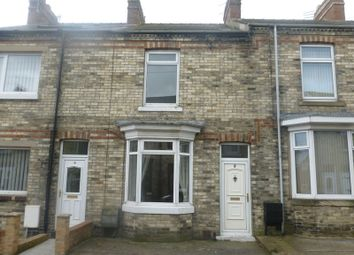 Thumbnail 2 bed terraced house to rent in Percy Street, Crook