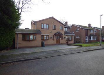 Thumbnail 6 bed detached house for sale in Glen Close, Walsall, West Midlands