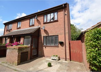 Thumbnail 1 bed maisonette for sale in Wellington Place, Brentwood