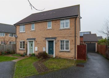 Thumbnail 3 bed semi-detached house for sale in Sheerwater Way, Stowmarket