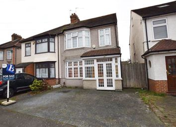 Thumbnail 3 bed semi-detached house for sale in Norwood Avenue, Rush Green, Essex
