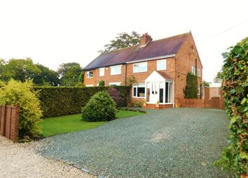 Thumbnail 3 bed semi-detached house for sale in North Drive, Gnosall, Stafford