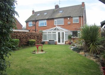 Thumbnail 3 bed semi-detached house for sale in Ediscum Garth, Bishop Auckland
