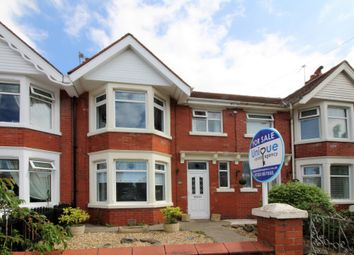 Thumbnail 3 bed terraced house for sale in Devon Avenue, Fleetwood