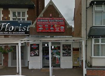 Thumbnail Retail premises for sale in Alum Rock Road, Alum Rock