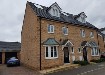 Thumbnail 4 bed semi-detached house to rent in Harvester Lane, Beck Row, Bury St. Edmunds