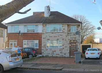 Thumbnail 3 bed semi-detached house for sale in Chapman Crescent, Harrow, Greater London