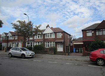 Thumbnail Semi-detached house to rent in Warwick Road South, Manchester, Greater Manchester.