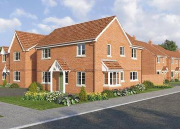 Thumbnail 4 bed detached house for sale in Suton Lane, Wymondham, Norfolk