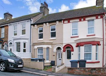 Thumbnail 2 bed terraced house for sale in Monins Road, Dover, Kent