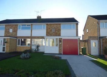 Thumbnail 3 bedroom semi-detached house for sale in Briar Meads, Oadby, Leicestershire