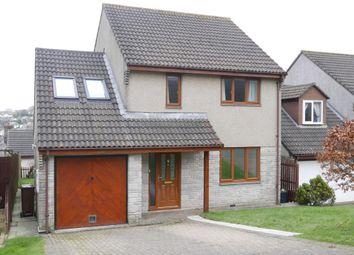 Thumbnail 3 bed detached house for sale in Beech Avenue, Liskeard, Cornwall