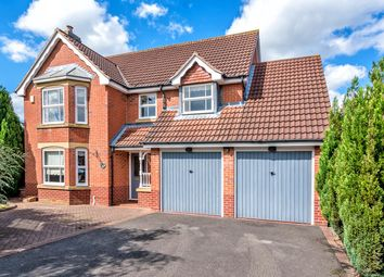Thumbnail 4 bed detached house for sale in Spires Croft, Shareshill, Wolverhampton