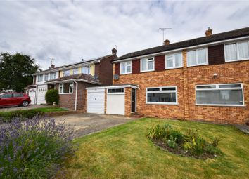 Thumbnail 3 bed semi-detached house to rent in Croasdaile Road, Stansted