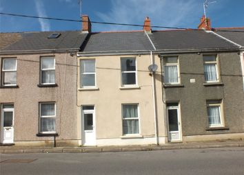 Thumbnail 3 bed terraced house for sale in Priory Road, Milford Haven, Pembrokeshire