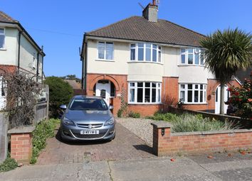 Thumbnail 3 bed semi-detached house for sale in Exeter Road, Felixstowe