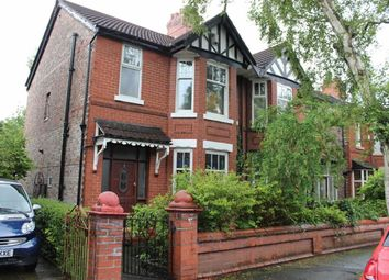 Thumbnail 3 bed semi-detached house for sale in Lindsay Avenue, Levenshulme, Manchester