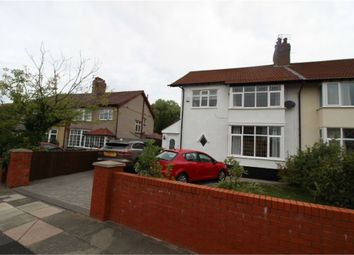 Thumbnail 4 bed semi-detached house for sale in Berwick Drive, Liverpool, Merseyside