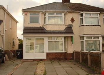 Thumbnail 3 bed semi-detached house to rent in Waite Road, Willenhall