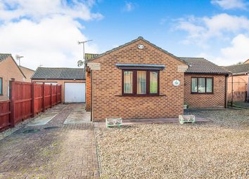 Thumbnail 2 bed detached bungalow for sale in Bethlem Crescent, Wainfleet St. Mary, Skegness
