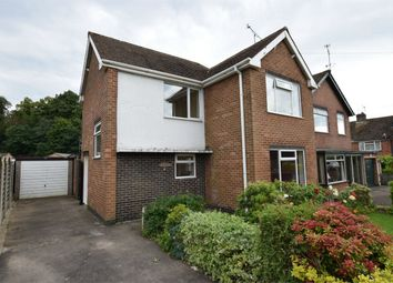 Thumbnail 3 bed detached house for sale in Hayes Crescent, Swanwick, Alfreton, Derbyshire