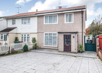 Thumbnail 3 bed semi-detached house for sale in Bramshaw Gardens, Watford