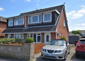 Thumbnail 3 bed semi-detached bungalow for sale in Larchwood Crescent, Leyland